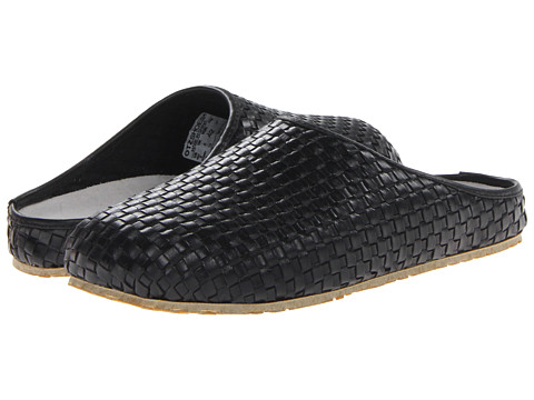 OTZ - House Woven Leather (Black) Slip on Shoes