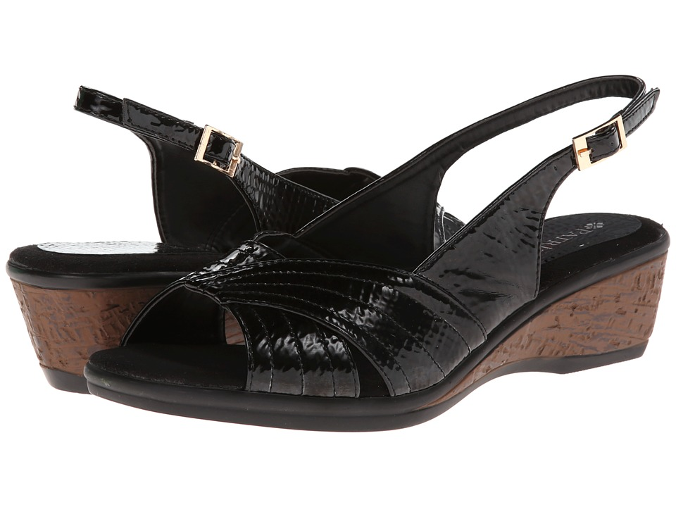PATRIZIA - Iridescent (Black) Women's Sling Back Shoes
