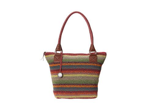 The Sak - Cambria Large Tote (Gypsy Stripe) Shoulder Handbags