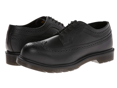 Dr. Martens Work - Ludlow St Brogue (Black) Men's Shoes