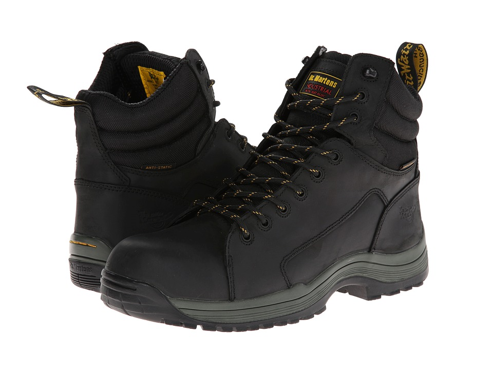 Dr. Martens - Bersa SD 9-Tie Boot (Black) Men's Boots