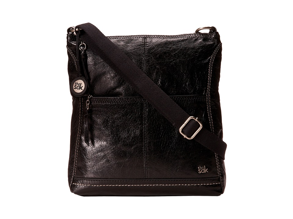 The Sak - Iris Crossbody (Black Onyx) Cross Body Handbags