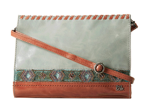 The Sak - Iris Demi Clutch (Seafoam Beaded) Clutch Handbags