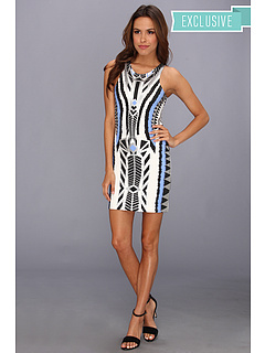 SALE! $36.99 - Save $43 on MINKPINK Printed Dress with Silver Foil Details (Multi) Apparel - 53.76% OFF $80.00