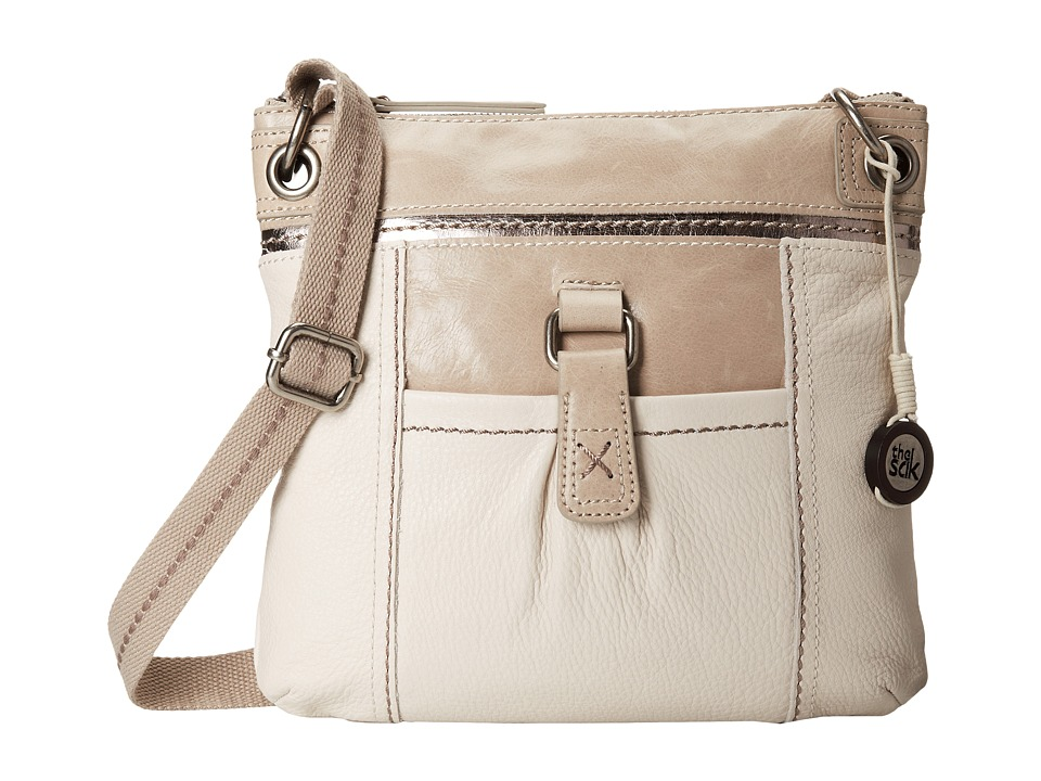The Sak - Kendra Leather Crossbody (Stone Sparkle) Cross Body Handbags