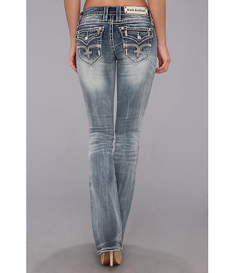 Rock Revival - Angie B18 Bootcut (Medium Indigo) Women's Jeans