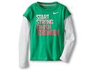 Nike Kids Start Strong 2-Fer (Toddler) (Gamma Green)