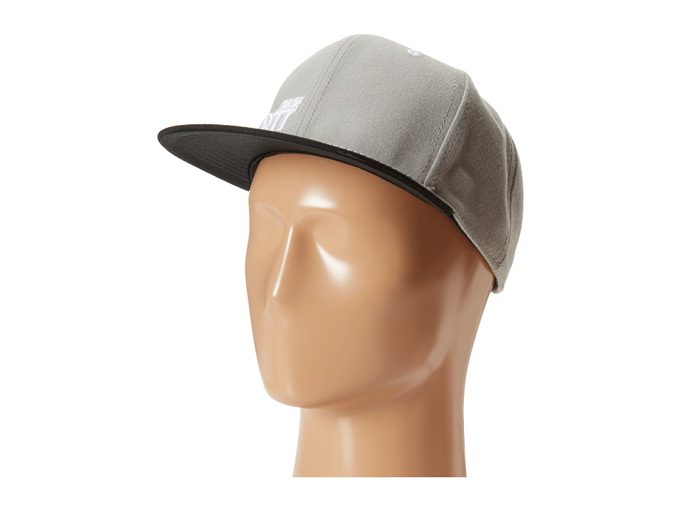 Neff - Daily Cap (Grey/Black/White) Baseball Caps
