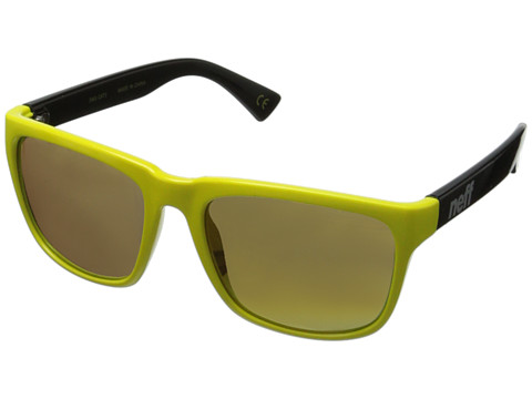 Neff - Chip (Yellow/Black) Plastic Frame Fashion Sunglasses