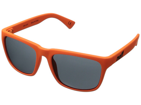 Neff - Chip (Orange Rubber) Plastic Frame Fashion Sunglasses