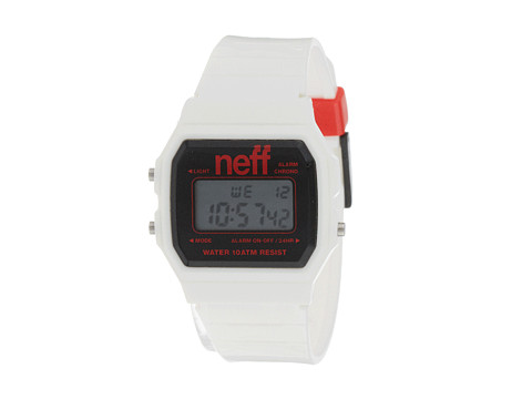 Neff - Flava XL (White/Black/Red) Watches