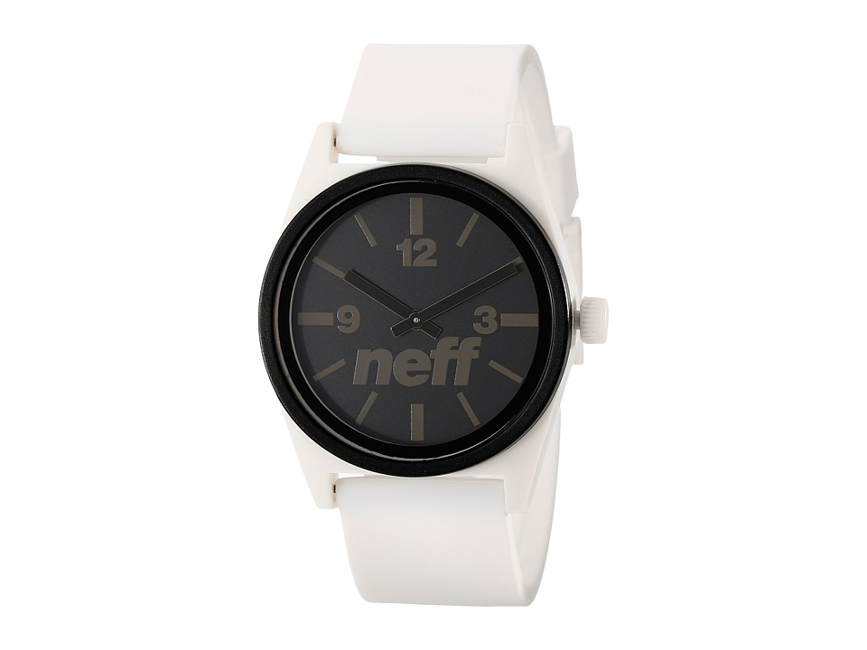 Neff - Deuce (White/Black) Analog Watches