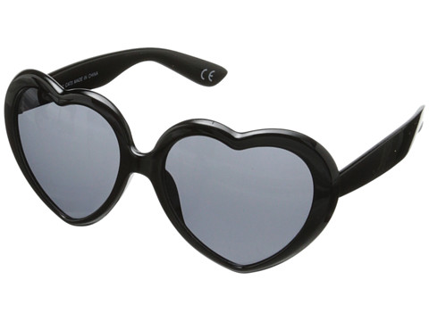 Neff - Luv (Black) Plastic Frame Fashion Sunglasses