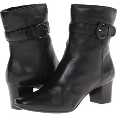Bandolino Demelza (Black Leather) Footwear