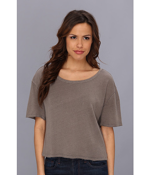 Free People - My Favorite Tee (Taupe) Women's T Shirt