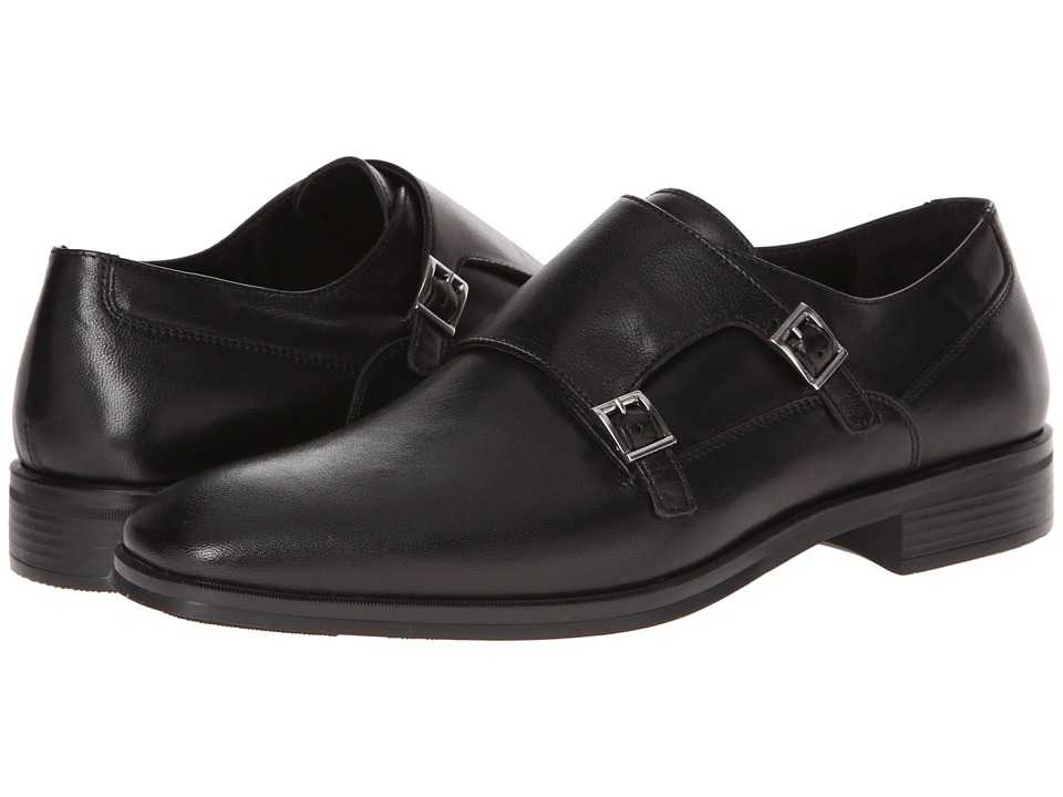 Bruno Magli - Paro (Black) Men's Slip on Shoes