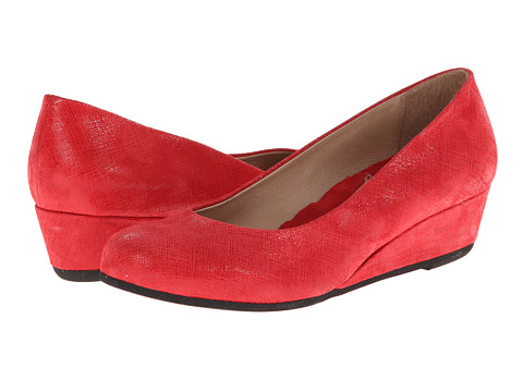 French Sole Gumdrop (Red Cartizze) Women's Wedge Shoes