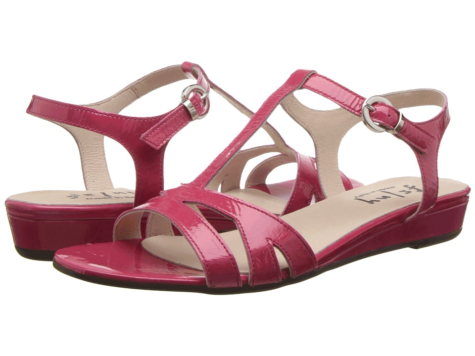 French Sole - Logic (Hot Pink Naplak) Women's Sandals