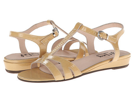 French Sole - Logic (Nude Naplak) Women's Sandals