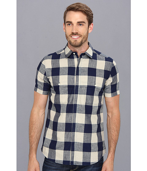 The Portland Collection by Pendleton - Still Creek Shirt (Navy Check) Men