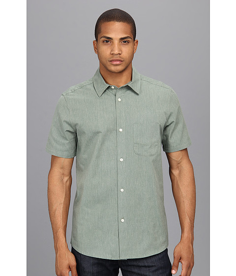 The Portland Collection by Pendleton - Yachats Selvage Shirt (Forrest) Men's Short Sleeve Button Up