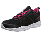 Reebok Trainfusion RS 3.0 Leather (Black/Pink Fusion/Hydro Blue/White) Women's Shoes