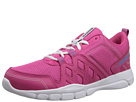 Reebok Trainfusion RS 3.0 Leather (Pink Fusion/Blue Bomb/White/Pure Silver) Women's Shoes