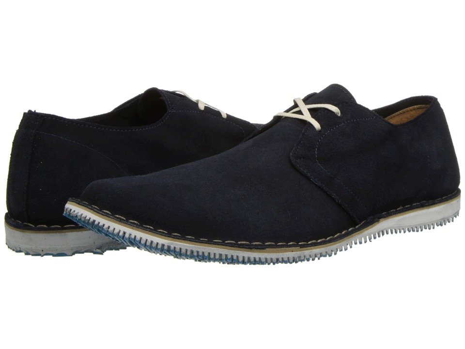 Walk-Over - Poe (Navy Suede) Men