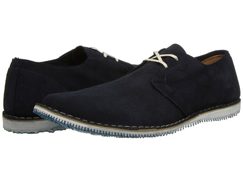 Walk-Over - Poe (Navy Suede) Men's Shoes