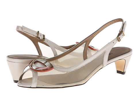 Vaneli - Bowl (Beige) Women's Sling Back Shoes