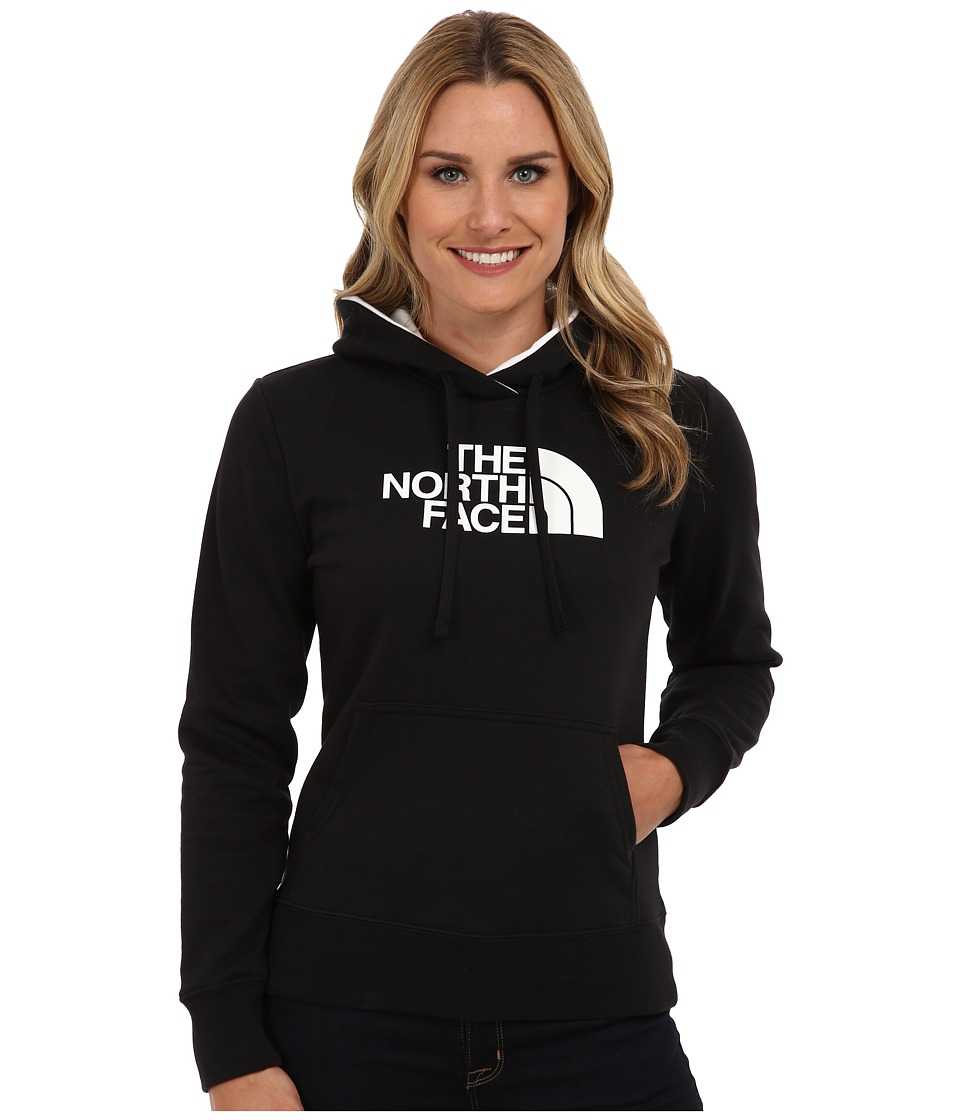 The North Face - Half Dome Hoodie (TNF Black/TNF White) Women's Sweatshirt