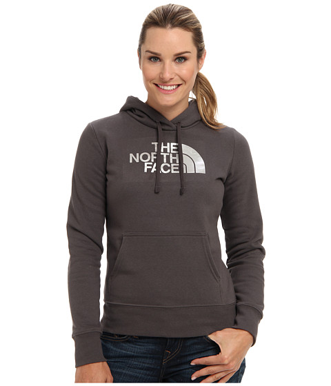 The North Face - Half Dome Hoodie (Graphite Grey/Silver Foil) Women's Sweatshirt