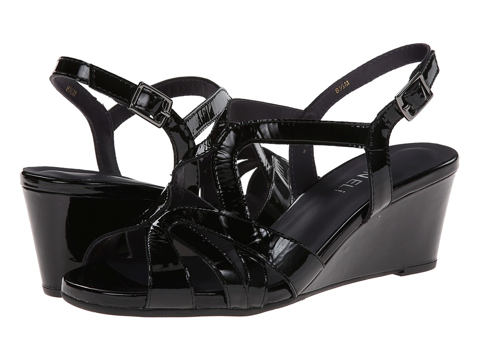 Vaneli - Miriam (Black) Women's Wedge Shoes