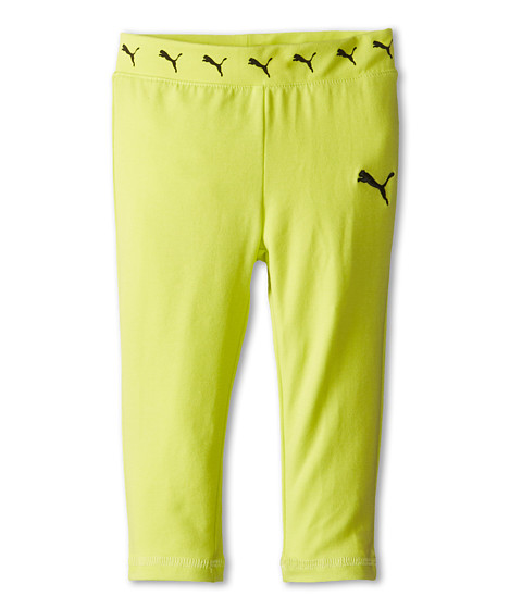 Puma Kids - Core Yoga Capri (Toddler) (Lemon Tonic) Girl's Capri
