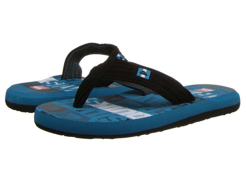 Quiksilver Kids Foundation Cush Boys Shoes (Blue)