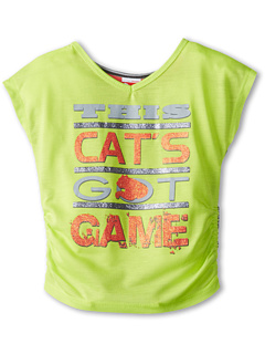 SALE! $14.99 - Save $9 on Puma Kids S S Cats Got Game Tee (Little Kids) (Citrus Lime) Apparel - 37.54% OFF $24.00