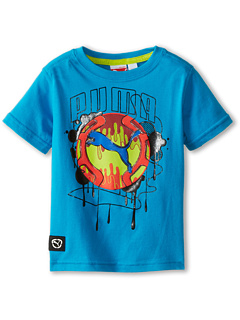 SALE! $12.99 - Save $9 on Puma Kids Cat Drip Tee (Toddler) (Blue Danube) Apparel - 40.95% OFF $22.00