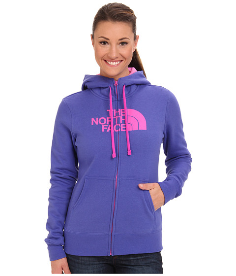 The North Face - Half Dome Full Zip Hoodie (Tech Blue) Women