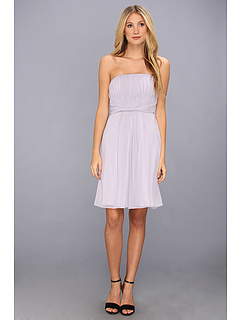 SALE! $39.99 - Save $138 on Donna Morgan Ruched Strapless Bodice with Twist Dress (Lavender Blue) Apparel - 77.53% OFF $178.00