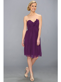 SALE! $49.99 - Save $128 on Donna Morgan Mary Strapless Dress (Perfect Plum) Apparel - 71.92% OFF $178.00