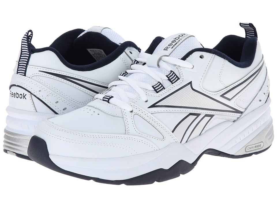 Reebok - Reebok Royal Trainer MT (White/Collegiate Navy/Pure Silver) Men's Shoes