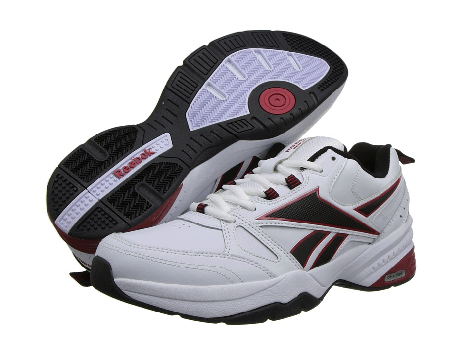 Reebok - Reebok Royal Trainer MT (White/Black/Excellent Red) Men's Shoes