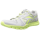 Reebok Yourflex Trainette RS 4.0 (Steel/Lemon Zest/Flat Grey) Women's Cross Training Shoes