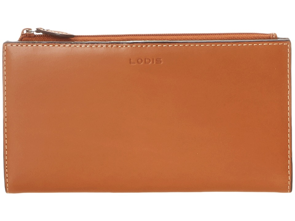 Lodis Accessories - Audrey Tess Wallet (Toffee) Checkbook Wallet