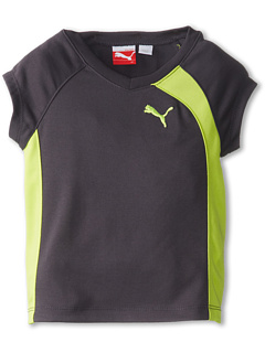 SALE! $8.4 - Save $16 on Puma Kids S S Active Asymmetrical Tee (Toddler) (Grey Cooler) Apparel - 65.00% OFF $24.00