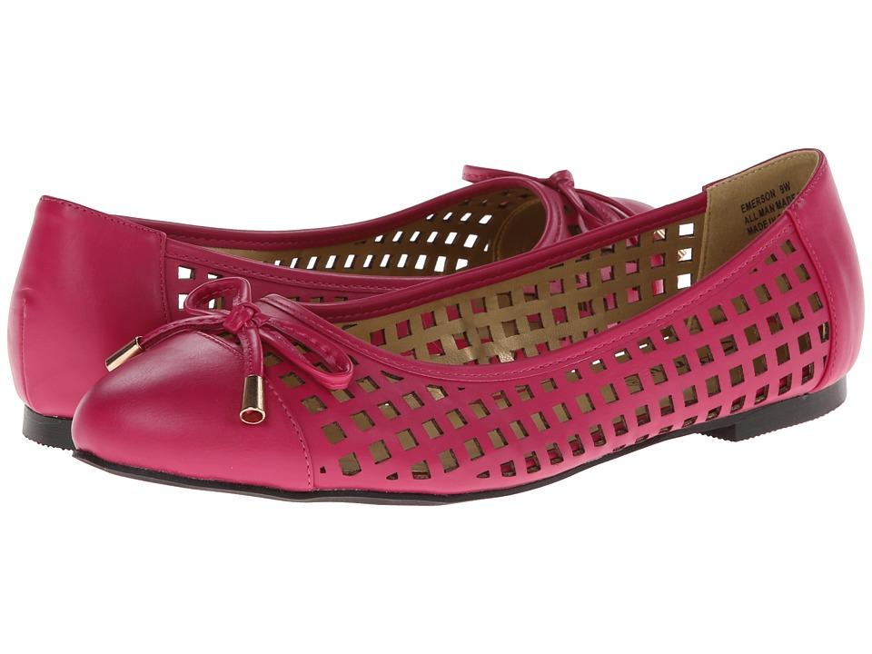 Annie - Emerson (Fuchsia) Women's Flat Shoes