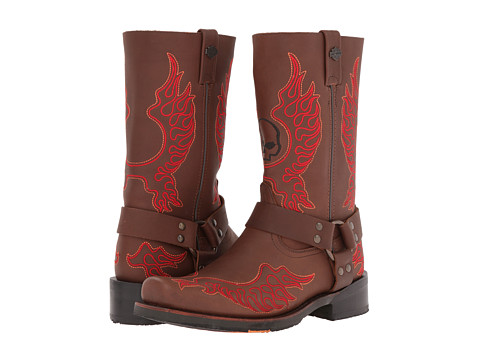 Harley-Davidson - Slayton (Brown) Cowboy Boots
