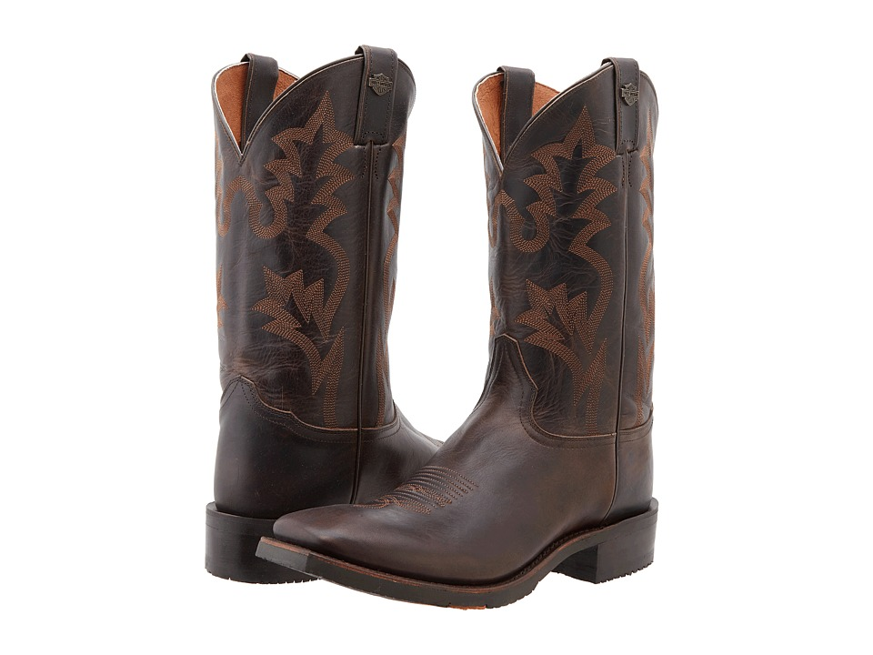 Harley-Davidson - Stockwell (Brown) Cowboy Boots
