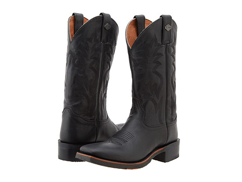 Harley-Davidson - Stockwell (Black) Cowboy Boots