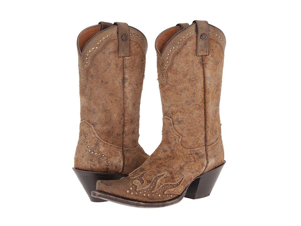Harley-Davidson - Jessa (Brown) Cowboy Boots